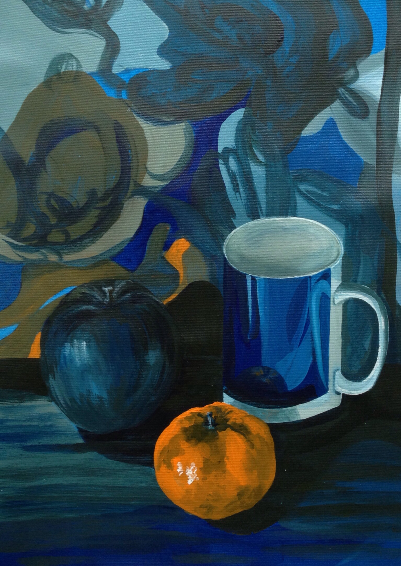Project Colour Relationships Exercise Still Life With